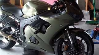 How to: change oil and filter 2005 yamaha R6