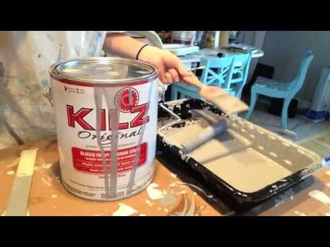 How to Clean Kilz Original Oil Based Primer from a paint brush