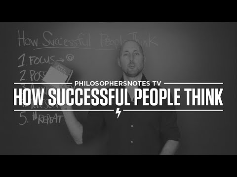 PNTV: How Successful People Think by John C. Maxwell