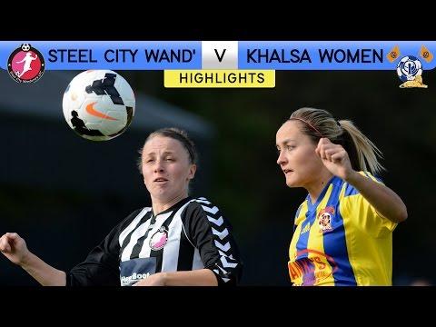 Steel City Wanderers 2 - 2 Khalsa Women | FA Women's Premier League | 2016/17