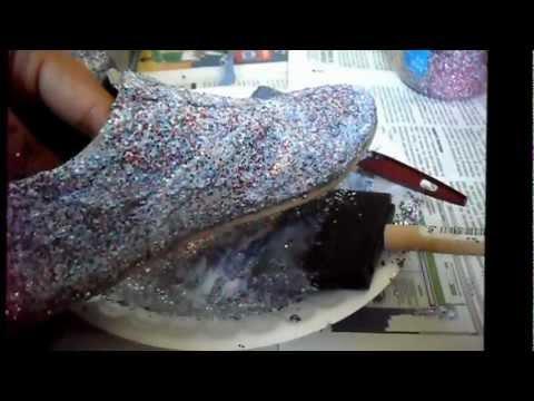 Glitter Como Customizar Zapatos Con Zapatos Como Con Customizar lJ3F1uTKc