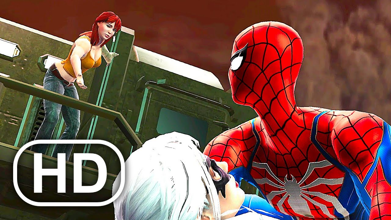 Download MJ Catches Spider-Man Cheating With Black Cat Scene 4K ULTRA HD - Spider-Man Game