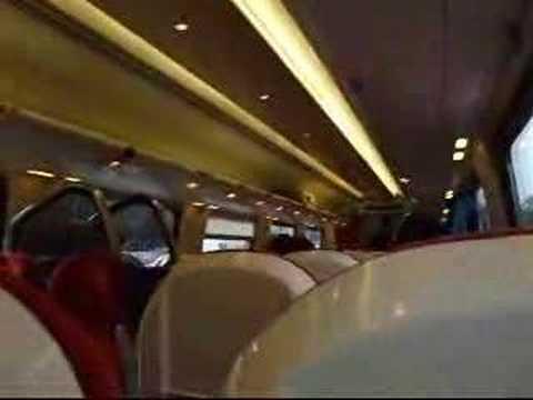 Virgin Voyager train at East Croydon 1 November 2007