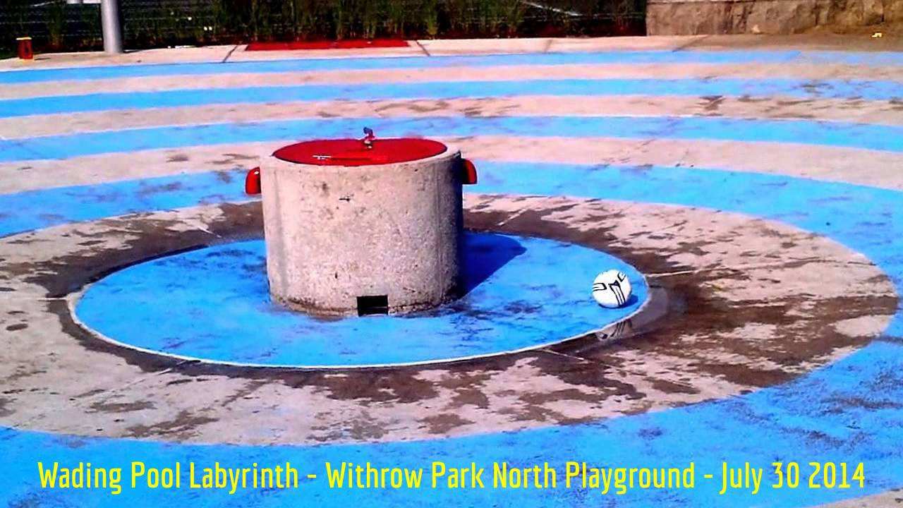 image of the Wading Pool Labyrinth without water