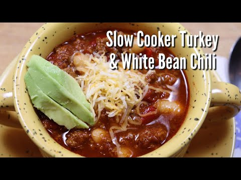 Slow Oven Poultry Bean Chili