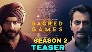 Scared Games Season 2 Officially Announced, Shooting Starts Soons, Nawazuddin Siddiqui,Saif Ali Khan