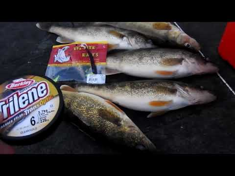 Walleyes-Does Fishing Line Matter????