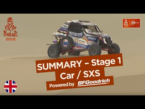 Summary - Car/SxS - Stage 1 (Lima / Pisco) - Dakar 2019