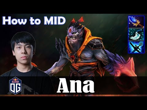 Ana - Lion MID | How to MID 19-0 | with Forev (Pugna) | Dota 2 Pro PUB Gameplay