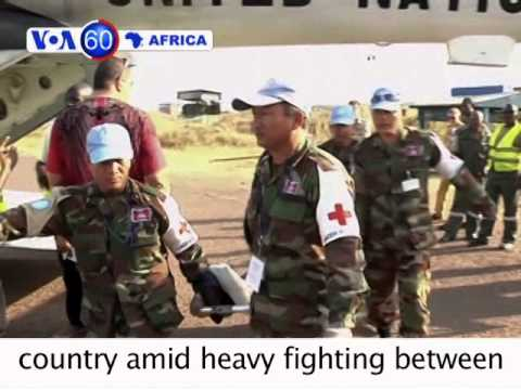 Christians in Bangui accuse AU troops from Chad of attacking them VOA60 Africa 12-23