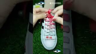 Как надо завязать шнурки
