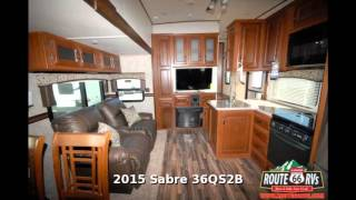 2015 Palomino Sabre 36QS2B, Fifth Wheel Two Bedroom, in Claremore, OK