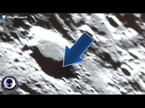 MUST SEE! Alien Movements On The Moon Up Close Footage! 4/26/16
