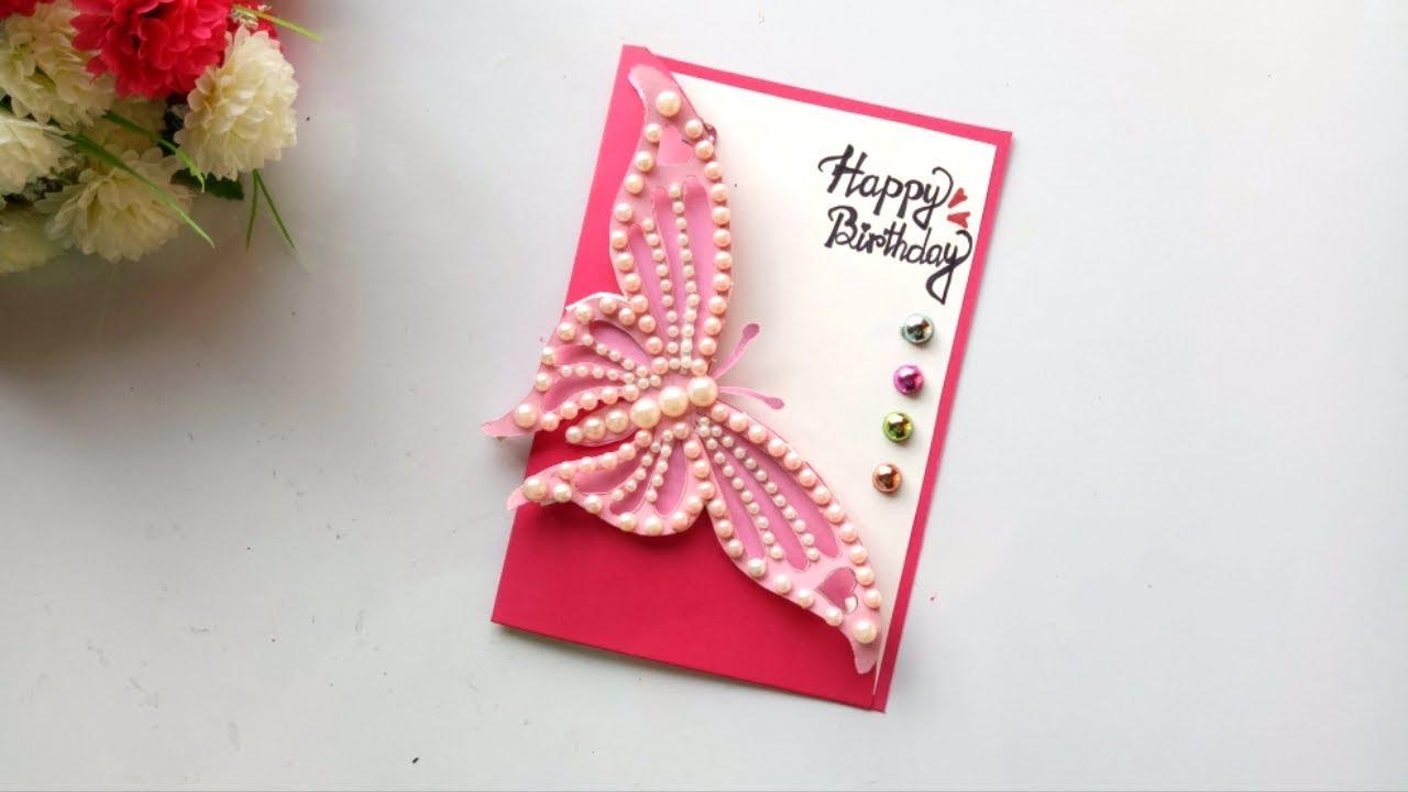 beautiful handmade birthday card idea diy greeting cards