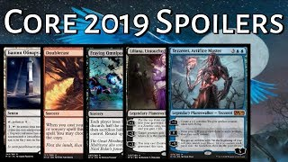 Mtg Core Set 2019 Spoilers: Tezzeret, Liliana, and More!