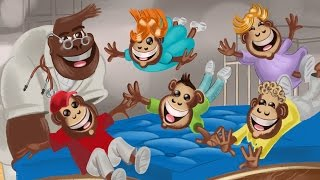 Watch Ranko Damjanovic Five Little Monkeys Jumping On The Bed video