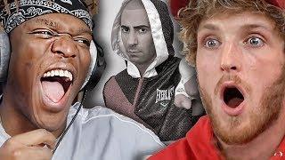 Logan Paul & KSI React To FouseyTube Fight Video Going Viral