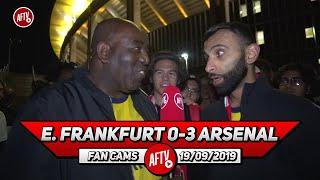 E. Frankfurt 0-3 Arsenal | Martinez' Distribution Was Brilliant!