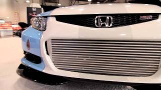 ► 2012 Honda Civic Si Coupe (1004 hp) by Bisimoto at 2011 SEMA Show