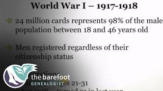 World War I and World War II Draft Registration Cards