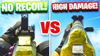 NO RECOIL vs HIGH DAMAGE! - BEST ASSAULT RIFLE CLASS SETUPS IN MODERN WARFARE! (Best Class COD MW)