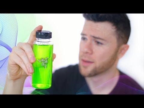 Razer Made a Gaming Drink!? Razer Respawn Taste Test
