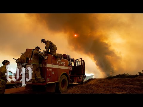 This California wildfire is almost the size of L.A.