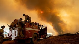 ThisCalifornia wildfire is almost the size of L.A.