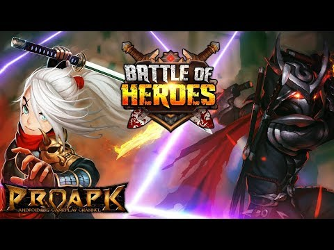Battle of Heroes Gameplay Android / iOS (CBT) (ID)