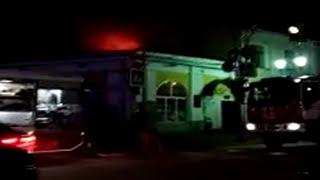 В Ярославле загорелось кафе
