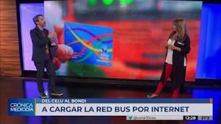 La tarjeta Red Bus se puede cargar por internet