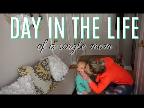 DAY IN THE LIFE OF A MOM| Single & Stay at Home Mom| DITL| Tres Chic Mama
