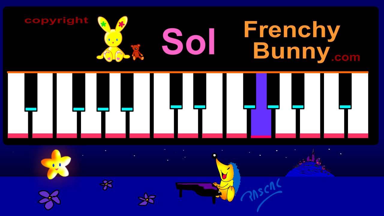 Lecon de piano a queue - 1 part 4
