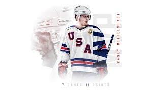 Casey Mittelstadt 2018 World Juniors Highlights (Tournament MVP)