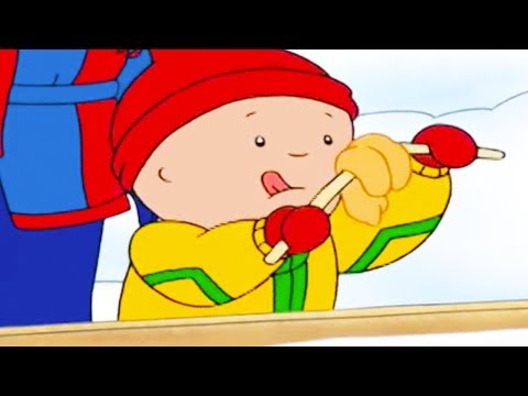 Caillou and the Sweet Winter | Caillou Cartoon