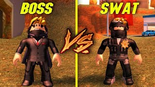 SWAT VS BOSS W JAILBREAK! I ROBLOX #273