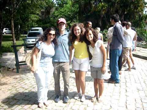 thais, Jesse Eisenberg, thais e thalitta no jardim botanico - Rio