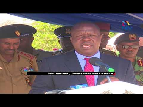 Matiang'i: Government will not allow gangs to run parts of the country