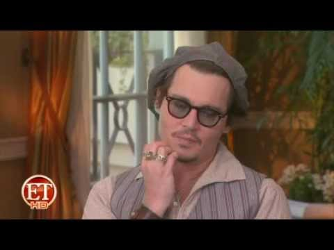 Johnny Depp  -  ET  Interview  ' The Rum Diary '
