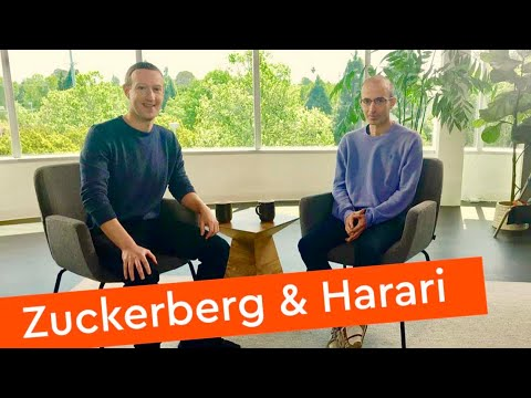 Mark Zuckerberg & Yuval Noah Harari in Conversation