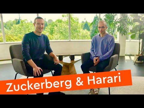 Mark Zuckerberg & Yuval Noah Harari In Conversation