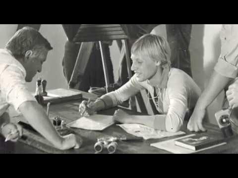"""Рабочие моменты фильма """"Зеленый фургон"""" 1983 год"""