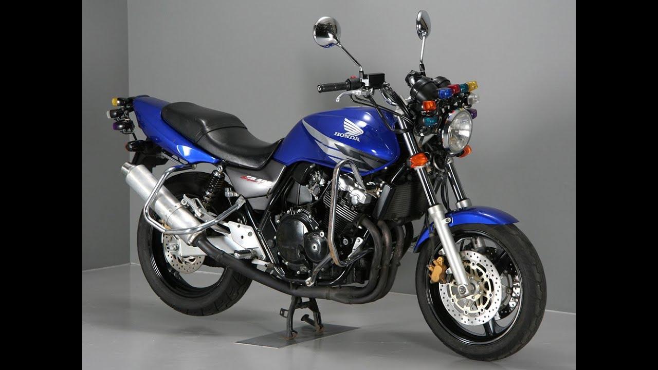 Honda CB400SF-K учебная версия отличия!!! - YouTube