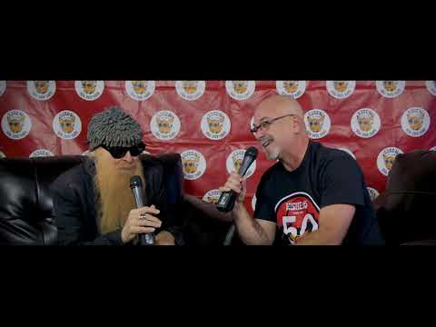 Billy Gibbons of ZZ Top Interview - KSHE 50th Birthday Party