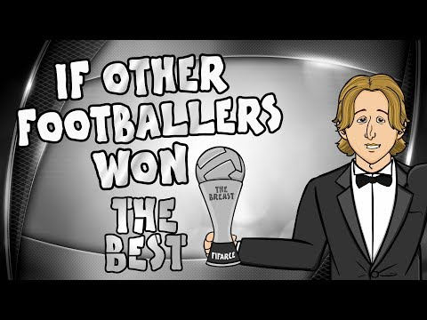 🏆Luka Modric wins The Best FIFA Award!🏆 What if other footballers had won it?