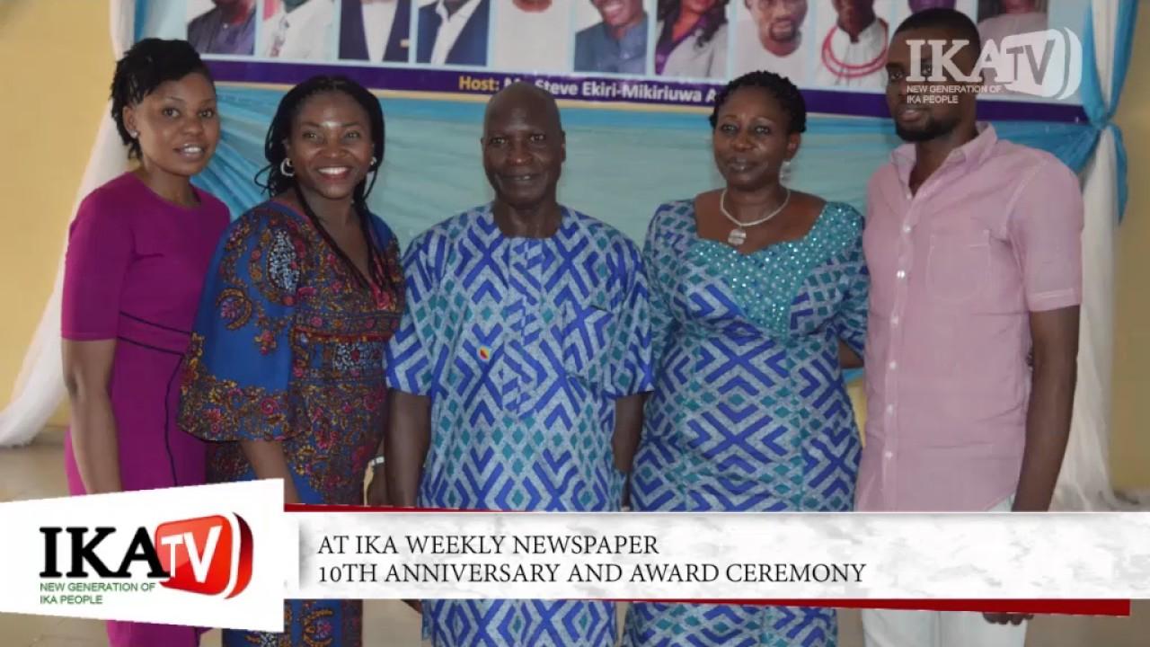 IKA Weekly Newspaper 20th Anniversary and Award Ceremony