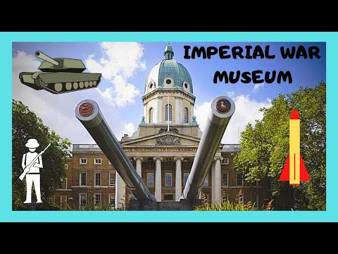 LONDON, the IMPERIAL WAR MUSEUM, the top exhibits to see (ENGLAND)
