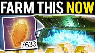 FARM THIS NOW! YOU HAVE 1 WEEK! - Destiny 2