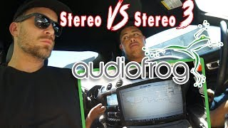 Custom built 7.1 CAR SURROUND 24 channel amp/DSP, Audiofrog RTA, Stereo VS Stereo 3 - AMPLIFIED #662