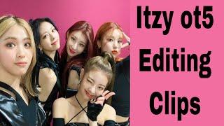 Itzy ot5 Editing Clips